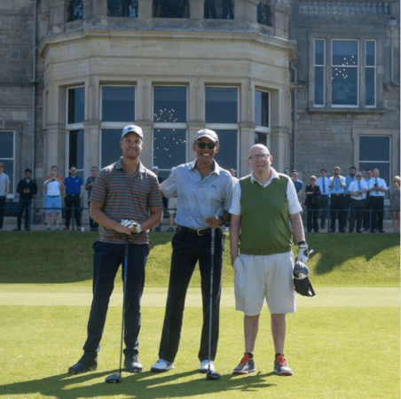 Barack Obama Plays St. Andrew's Old Course